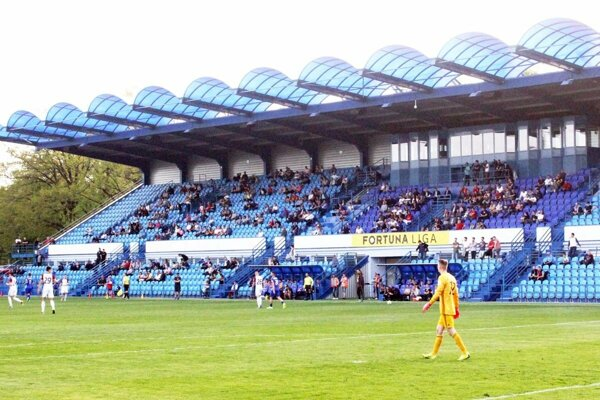 Návšteva na prvoligovom zápase v Nitre.