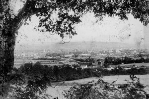 Panoráma mesta v roku 1906.
