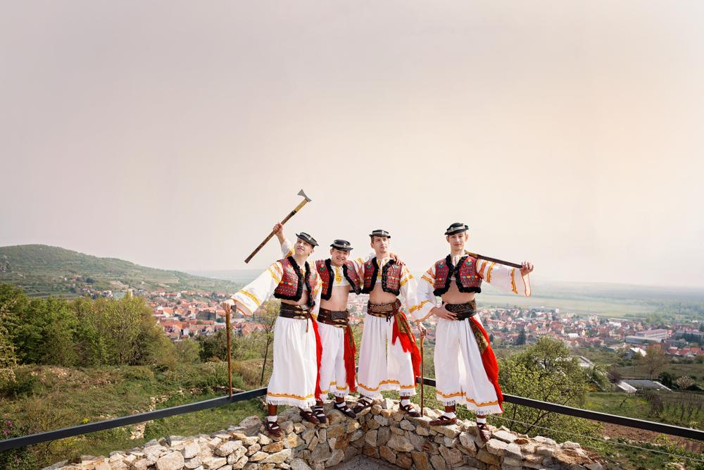 Na fotografii Viktor Voško, Matúš Kotuľák, Tomáš Husár, Dominik Lukáč zo SĽUKu