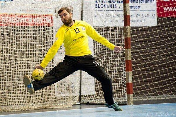 Brankár Drápal už odohral viacero duelov európskych pohárov.