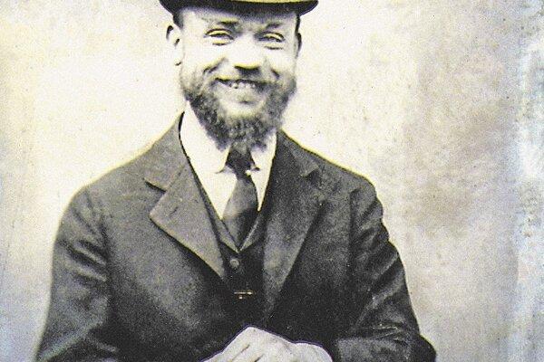 M. R. Štefánik na dagerotypii.