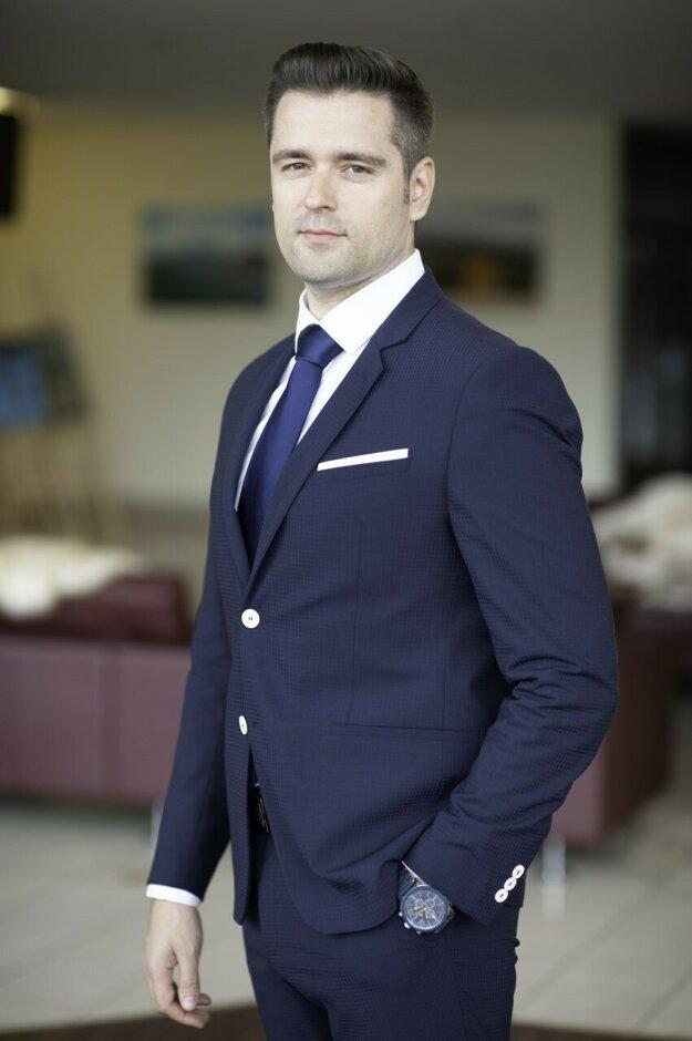 Mgr. Michal Šimo, konateľ spoločnosti DELUVIS