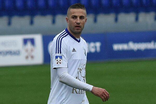 Stanislav Šesták z FK Poprad.