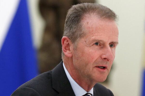 Výkonný riaditeľ Volkswagenu Herbert Diess.