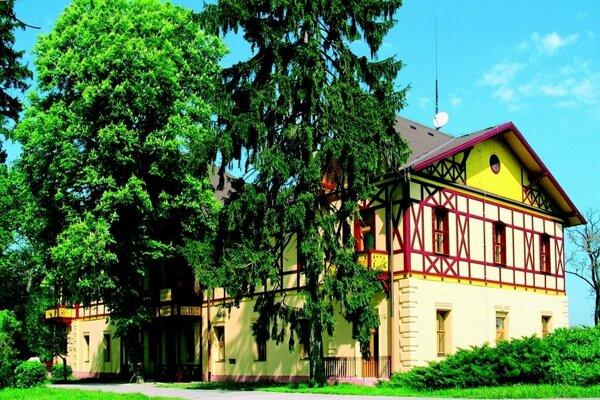 Liečebný dom Mária v Číži.