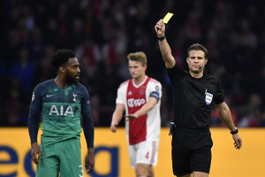 Zápas Ajax Amsterdam - Tottenham Hotspur.