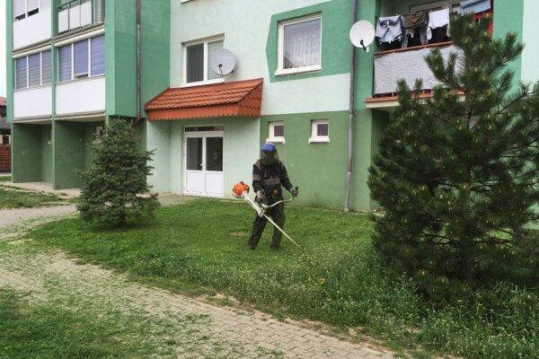 Mesto vyčlenilo na údržbu zelene a verejných priestranstiev 100 000 eur.