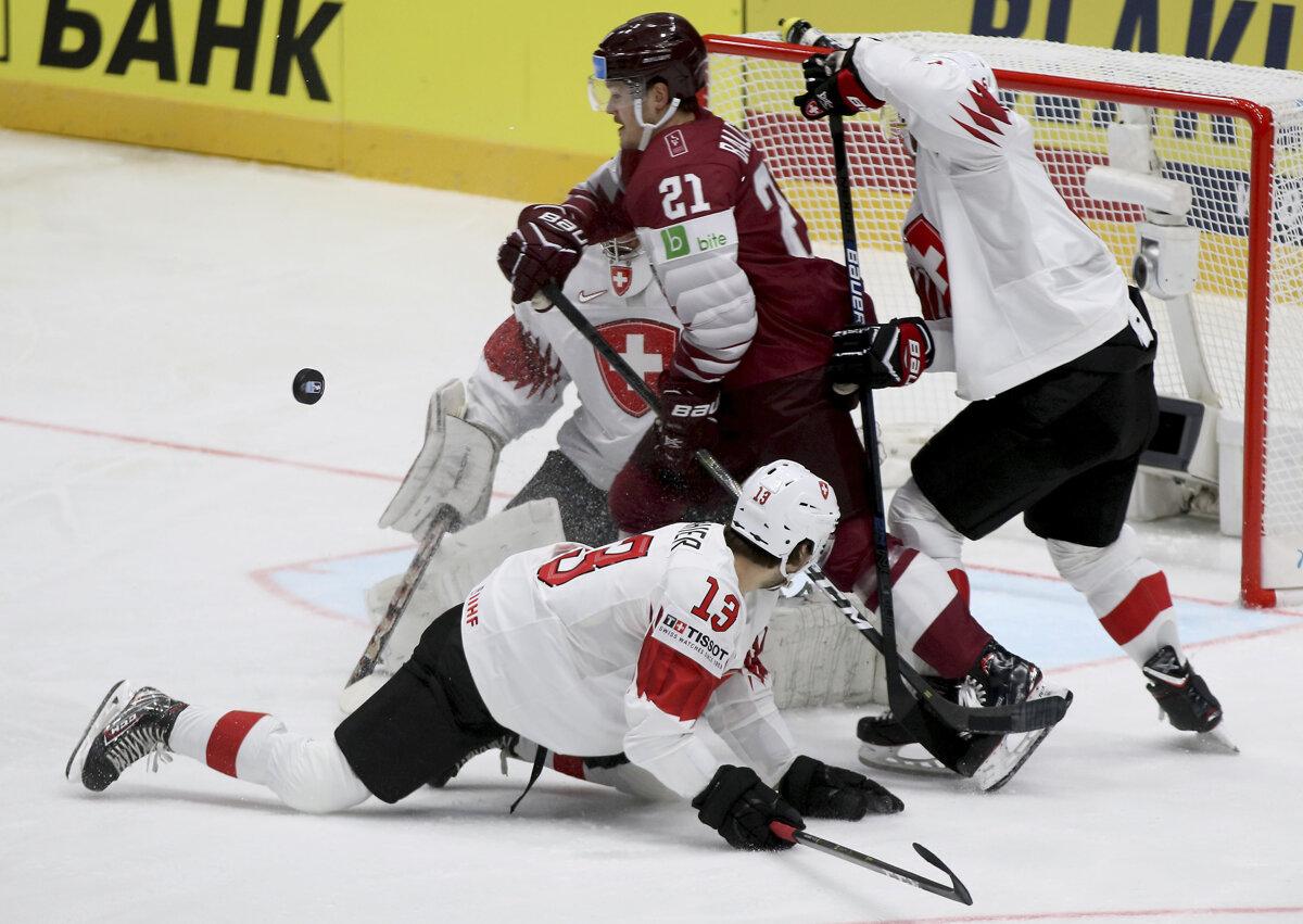 7a0dc3b0ff410 ONLINE: Lotyšsko - Švajčiarsko (MS v hokeji 2019, LIVE) - Šport SME