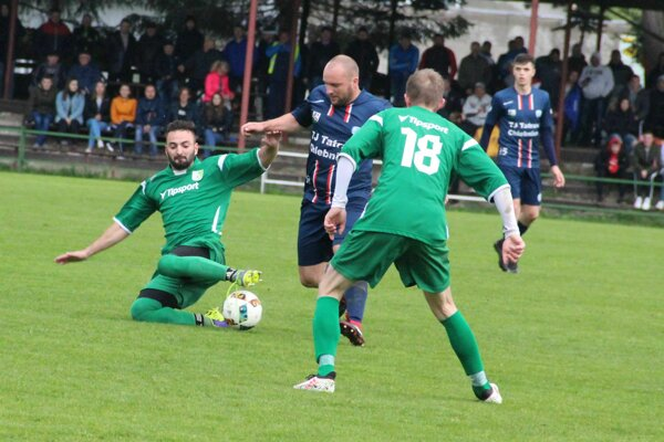 Zápas Oravskej Jasenice a Chlebníc priniesol jediný gólový moment.
