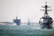 Fregata nevpláva do Perzského zálivu cez Hormuzský prieliv spolu so skupinou plavidiel, na čele ktorej je americká lietadlová loď USS Abraham Lincoln.
