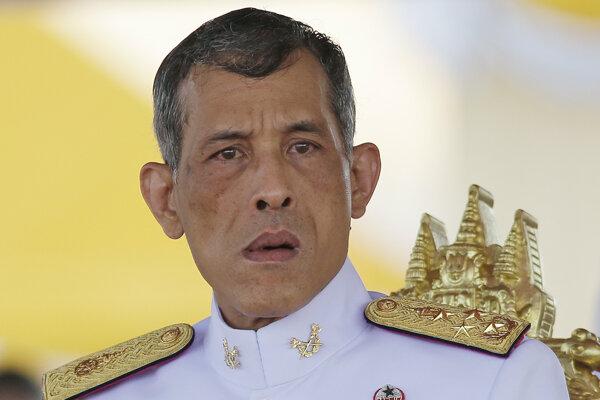 Thajský kráľ Vatčirálongkón.