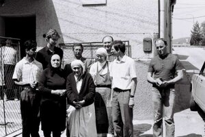"""""""Mojou túžbou bolo zriadiť útulok vo vašej krajine už dávnejšie, ale neumožnili mi to. V tomto roku (1990) ma o to písomne poprosil nitriansky biskup Mons. J. Ch. Korec. Hneď som súhlasila,"""" povedala."""