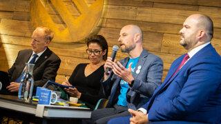 Slovensko v EÚ: Voľby a čo ďalej? Príďte na diskusiu denníka SME