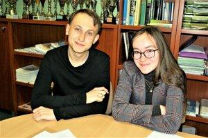 Dávid Bače a Zuzana Ludviková patria k nadaným študentom na Gymnáziu Jozefa Lettricha v Martine.
