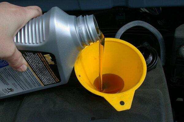 Výmena motorového oleja