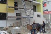 Výstavba nájomných bytov na Kráľovskej ulici v Šali.