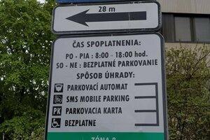 Parkovanie v Poprade po novom.