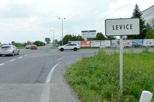 Vstup do Levíc.