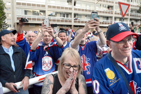 Britské oslavy záchrany v A-kategórii MS.