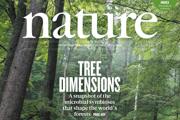 Výrez titulnej strany časopisu Nature s fotografiou z rezervácie Kundračka vo Veľkej Fatre.