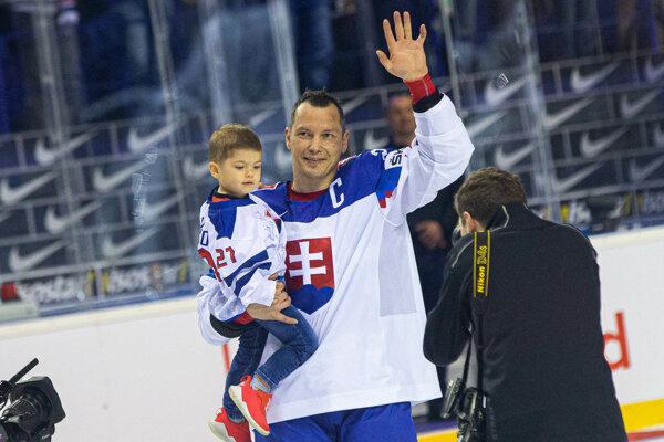 Ladislav Nagy sa lúčil s hokejom na MS v hokeji 2019.