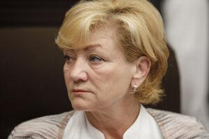 Ministerka kultúrky Ľubica Laššáková.