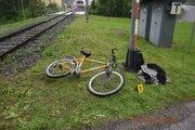 Cyklista zrážku prežil.