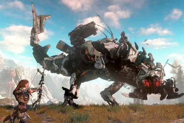 Záber z pripravovanej hry Horizon: Zero Dawn
