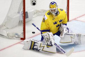 579c9a4bb9bca Momentky zo zápasu Fínsko - Švédsko na MS v hokeji 2019 (22 fotografií)