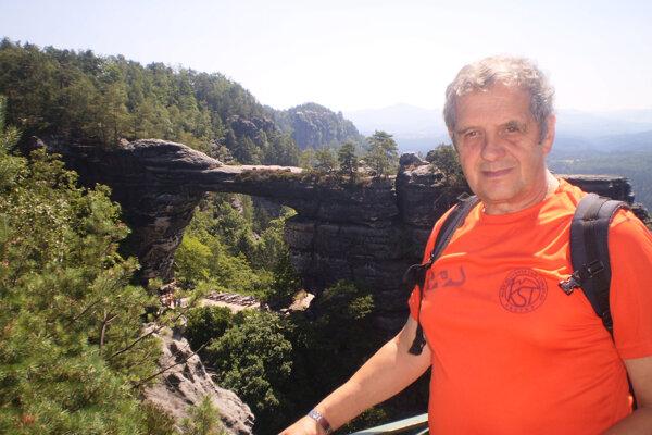 Ján Pullmann, predseda Klubu slovenských turistov Vrútky.