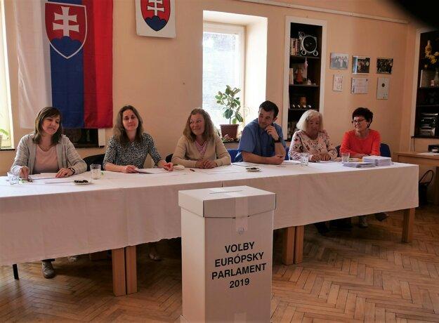 Eurovoľby v Liptovskej Ondrašovej.