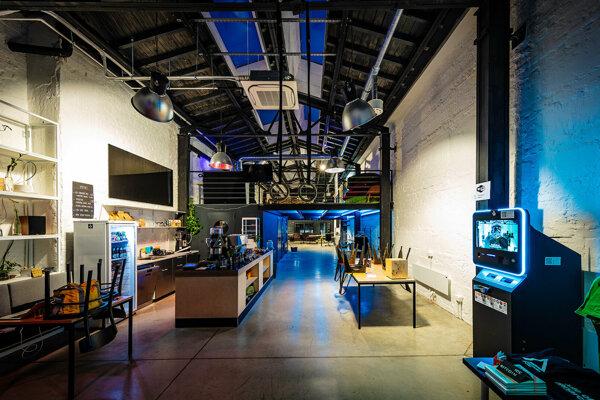 Industriálny interiér