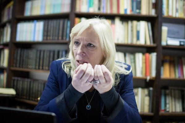 Bývalá premiérka Iveta Radičová.