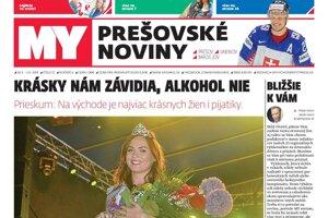 Vynovené Prešovské noviny.