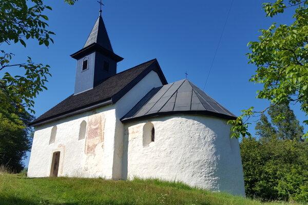 Kostolík v Kšinnej.
