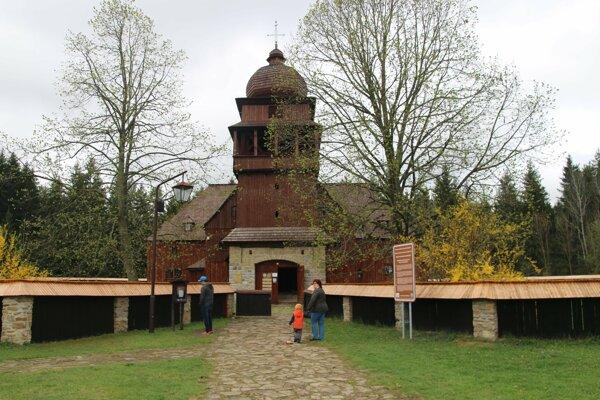 Artikulárny kostol vo Svätom Kríži pri Liptovskom Mikuláši.