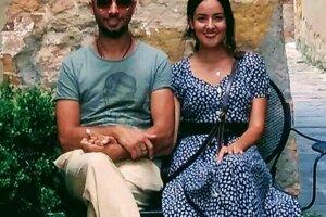 Banskoštiavničanka so svojim manželom.