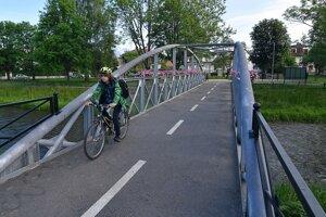 Súčasťou novootvoreného cyklochodníka neďaleko centra mesta Poprad sú aj mosty.
