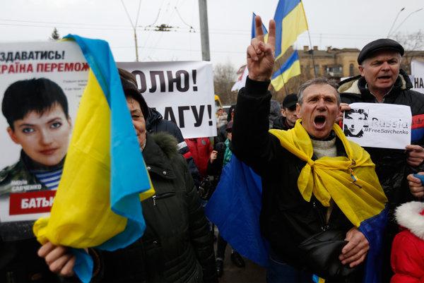 Ukrajinčania žiadajú vydanie Savčenkovej.