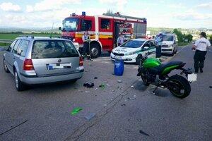 Nehoda sa stala pri Zvolene.