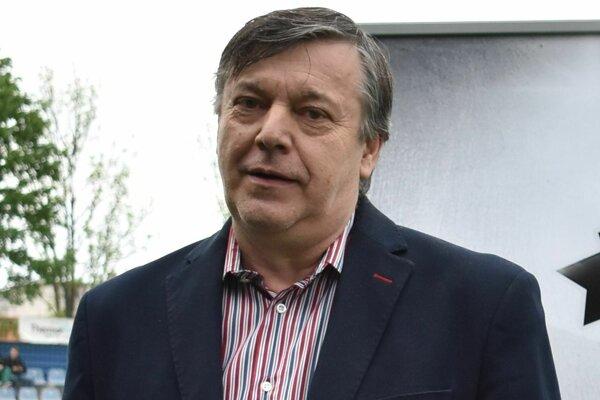 Člen predstavenstva MFK Zemplín Ján Sabol.