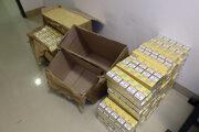 Cigarety patria k najčastejšiemu tovaru, ktorý sa pokúšajú pašeráci previezť z Ukrajiny na Slovensko.