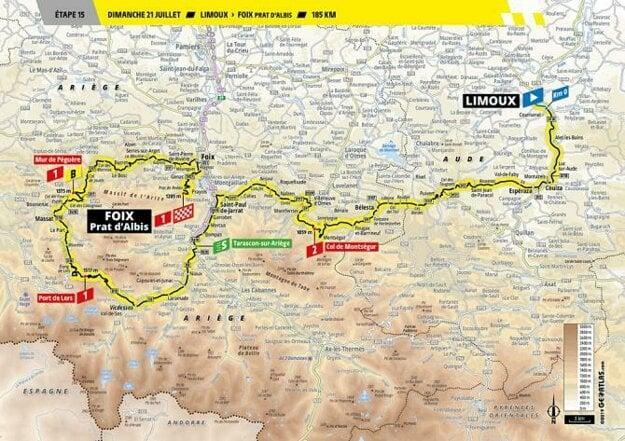 15. etapa Tour de France 2019.