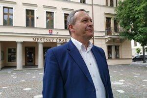 Primátor Levoče M Vilkovský absolvuje stretnutie na Ministerstve pôdohospodárstva SR.