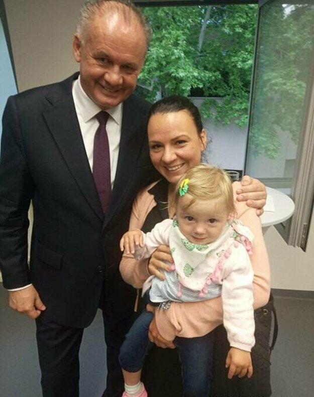 Dcéra Zorka sprevádzala Katarínu Gécziovú aj na nedávnom stretnutí s prezidentom.
