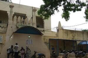 Väznica v hlavnomm meste Mali Bamaku, kde bol Ľuboš Kosík pôvodne umiestnený.