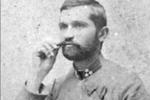 Slovenský konštruktér a vynálezca Ján Bahýľ.