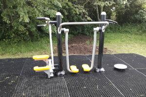 Nové fitnes zariadenia v Mikulskom parku.