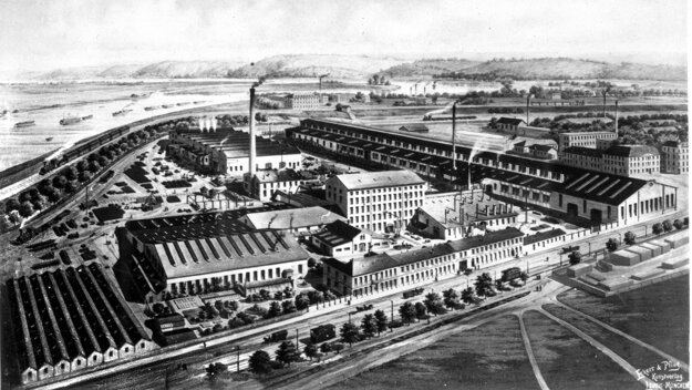 Areál Rustonky v roku 1900. KLIKNITE PRE ZVÄČŠENIE.