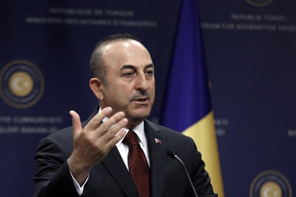 Turecký minister zahraničných vecí Mevlüt Cavusoglu.
